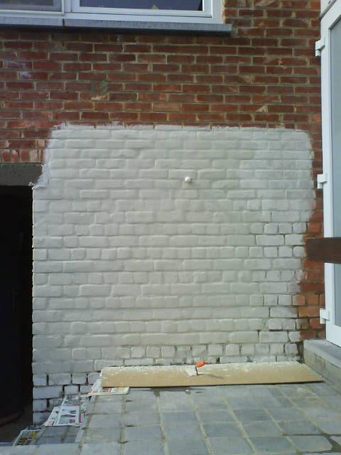 Super Cement Muur Schilderen IC22